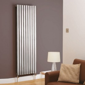 Chrome Vertical Designer Radiators