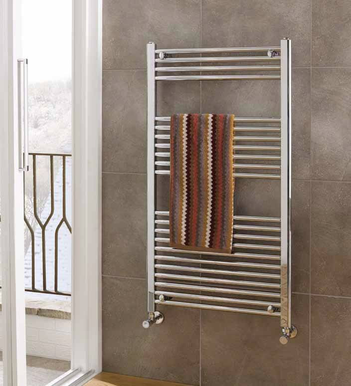 Electric Thermostatic Towel Rails Vertical