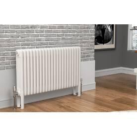 TradeRad Premium White 4 Column Horizontal Radiators