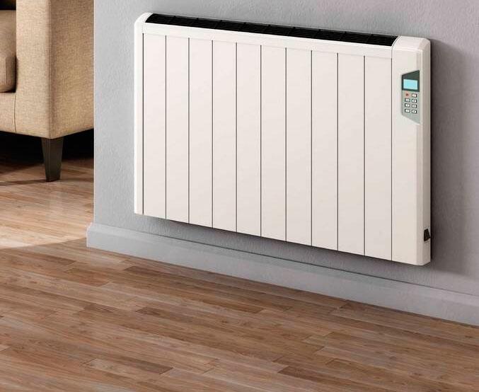 Aluminium Electric Radiators Dry Running Ecomoney