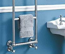 Anne Traditional Heated Towel Rail