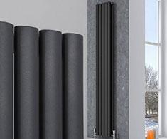Anthracite Vertical Designer Radiators