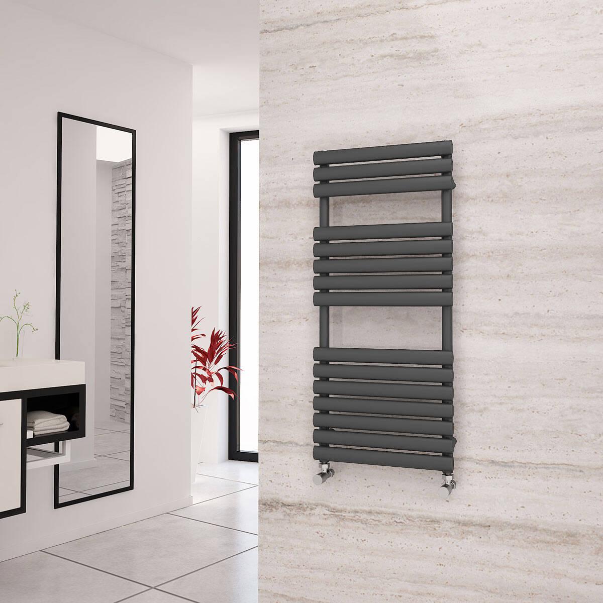 Anthracite Designer Heated Towel Rails