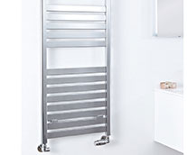 Ascot Flat Heated Towel Rail