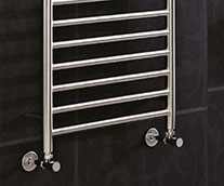 Athena Stainless Steel Designer Heated Towel Rail