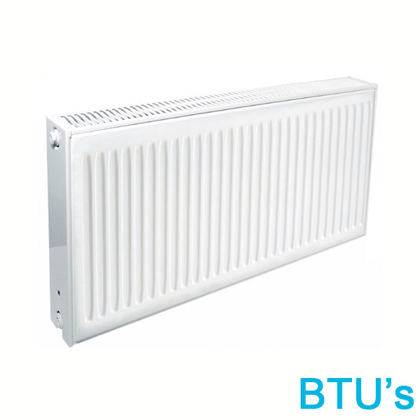 3500 to 4000 BTUs Radiators