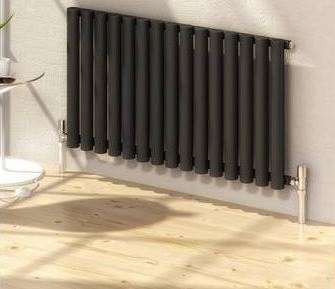 Black Horizontal Designer Radiators