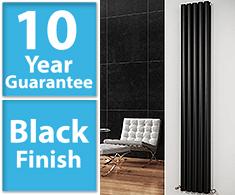 Black Vertical Column Radiators