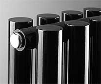 Black Vertical Designer Radiators