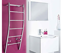 Cali Designer Heated Towel Rail