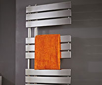 Carla Steel Designer Heated Towel Rail