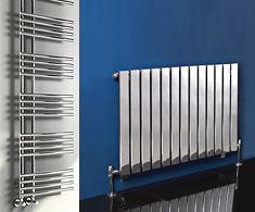 Chrome Horizontal Designer Radiators
