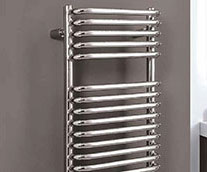 Crysta Curved Designer Heated Towel Rail
