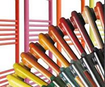 Custom Painted Vertical Designer Radiators