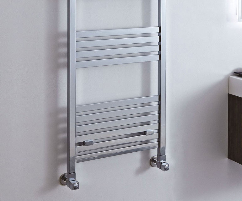 Davina Square Tube Heated Towel Rail