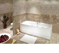 Double Ended Whirlpool Jacuzzi and Spa Bath