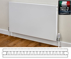 Eastgate Piatta Italian Double Panel Single Convector Radiator