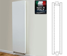 Eastgate Piatta Italian Vertical Double Panel Double Radiator