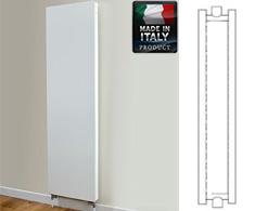 Eastgate Piatta Italian Vertical Double Panel Double Radiator