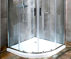 Eastgate 6mm Quadrant Shower Enclosures