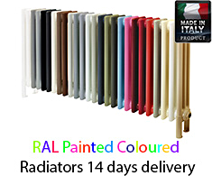 Eastgate Colore Italian Column Radiator 26 Colours Avalible