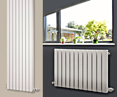 Eastgate Edge Square Tube Designer Radiators