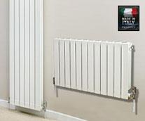 Eastgate Liscia Italian Aluminium White Radiator