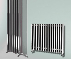 Eastgate Satin Aluminium Radiators