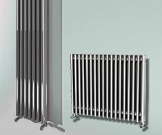 Eastgate Satin Aluminium Radiators