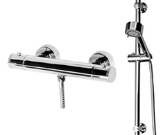 Shower Rail Kit & Bar Valve Fixing Kit