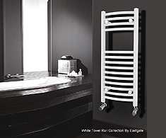 Eastgate White Towel Rails