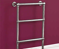 Elizabeth Traditional Heated Towel Rail
