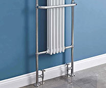 Ella Traditional Heated Towel Rail