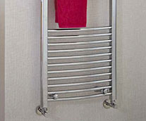 Gina Curved Designer Heated Towel Rail