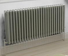 Grey Horizontal Column Radiators
