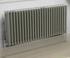 Grey Horizontal Column Radiators