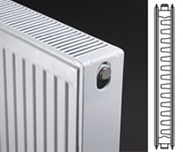 Double Panel Single Convector Radiators Type 21