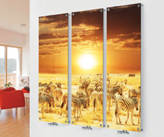Eastgate Levia Glass Picture Designer Radiators