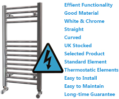 Maxtherm Electric Ladder Towel Rails