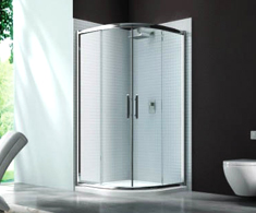 Merlyn 6 Series 2 Shower Door Quadrant