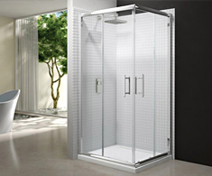 Merlyn 6 Series Corner Shower Doors