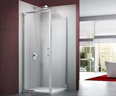 Merlyn 6 Series Frameless Pivot Shower Doors