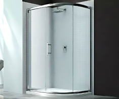 Merlyn 6 Series Offset Quadrant Shower Doors