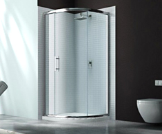 Merlyn 6 Series Quadrant Shower Doors
