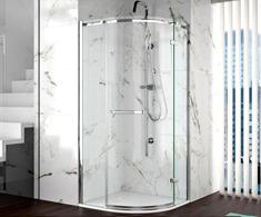 Merlyn 8 Series Frameless Quadrant Shower Doors