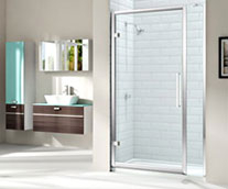 Merlyn 8 Series Hinge Door & Inline Panel