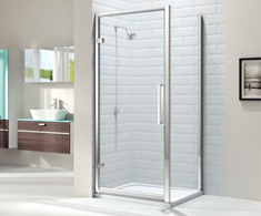 Merlyn 8 Series Hinge Shower Door