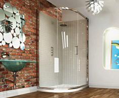 Merlyn 8 Series Offset Quadrant Shower Door