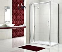 Merlyn 8 Series Infold Door & Inline Panel