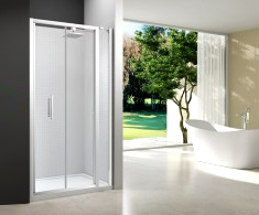 Merlyn 6 Series Bifold Shower Doors & Inline Panel